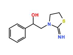 2-Imino-alpha-phenyl-3-thiazolidine ethanol