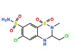 Methychlothiazide